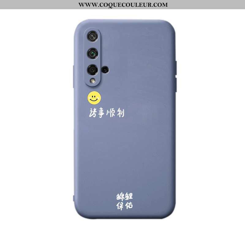 Coque Honor 20 Légère Téléphone Portable Incassable, Housse Honor 20 Silicone Tout Compris Bleu
