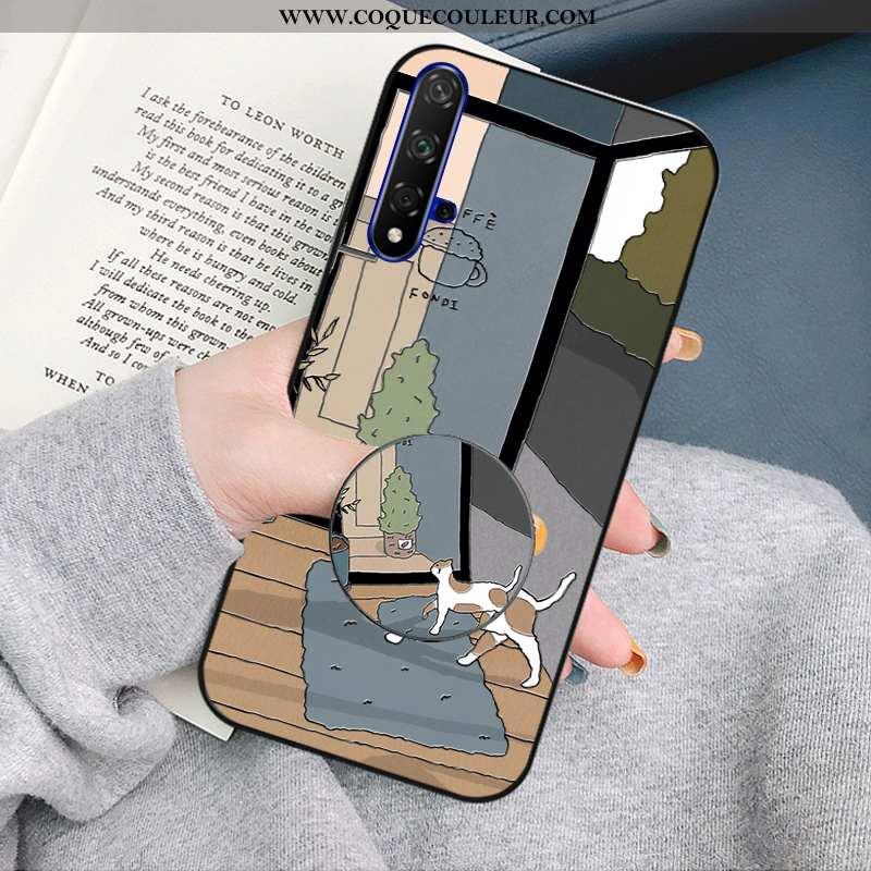 Étui Honor 20 Créatif Téléphone Portable Coque, Coque Honor 20 Dessin Animé Personnalité Bleu