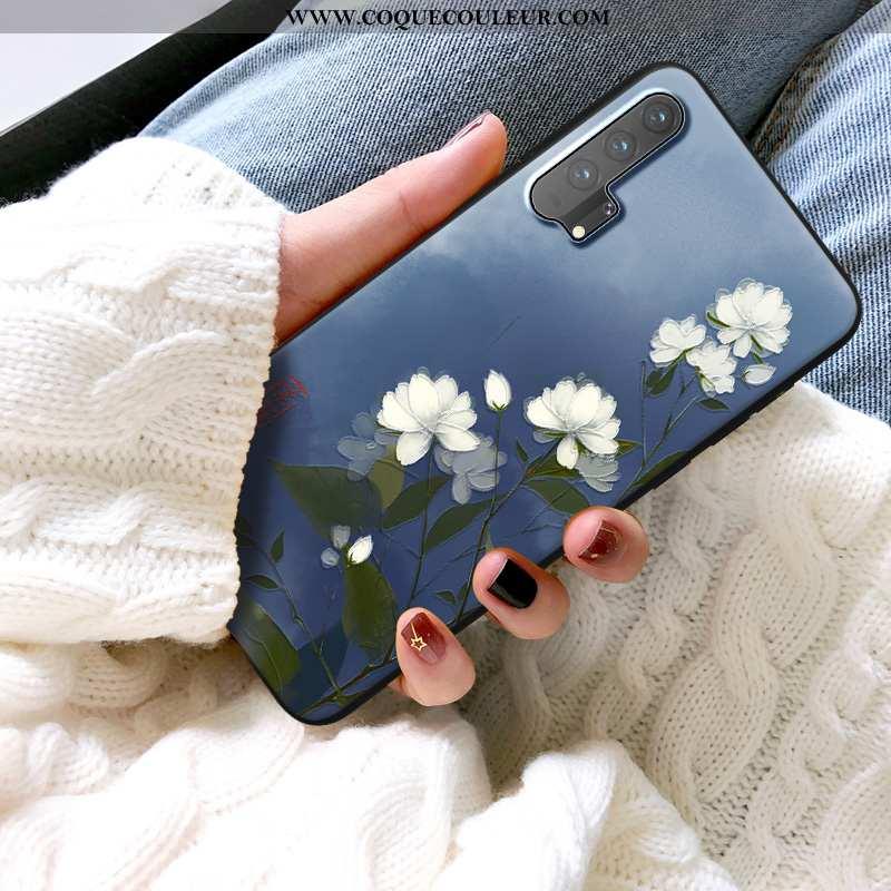 Étui Honor 20 Pro Tendance Téléphone Portable Bleu Marin, Coque Honor 20 Pro Protection Bleu Foncé