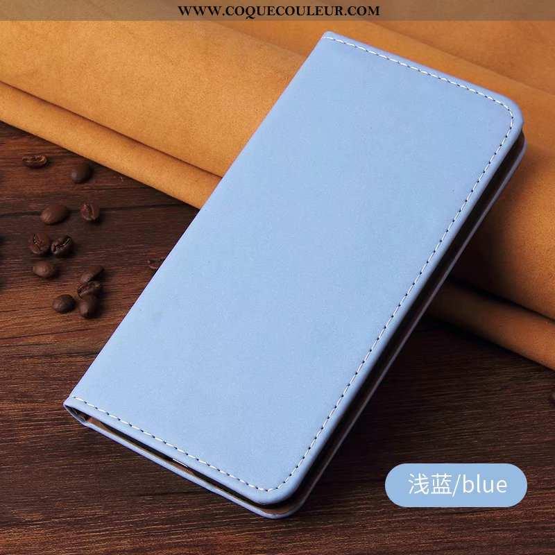 Coque Honor 20 Pro Cuir Étui Bleu, Housse Honor 20 Pro Téléphone Portable Bleu