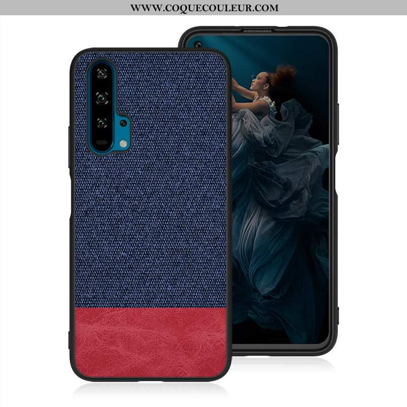 Coque Honor 20 Pro Mode Téléphone Portable Tout Compris, Housse Honor 20 Pro Protection Créatif Bleu