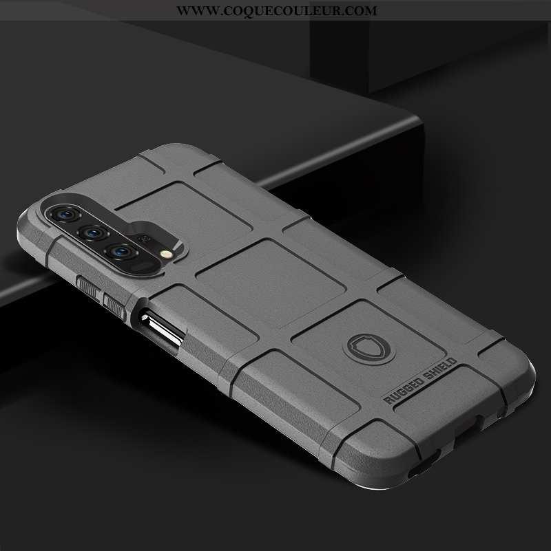 Housse Honor 20 Pro Silicone Étui Gris, Honor 20 Pro Protection Téléphone Portable Gris