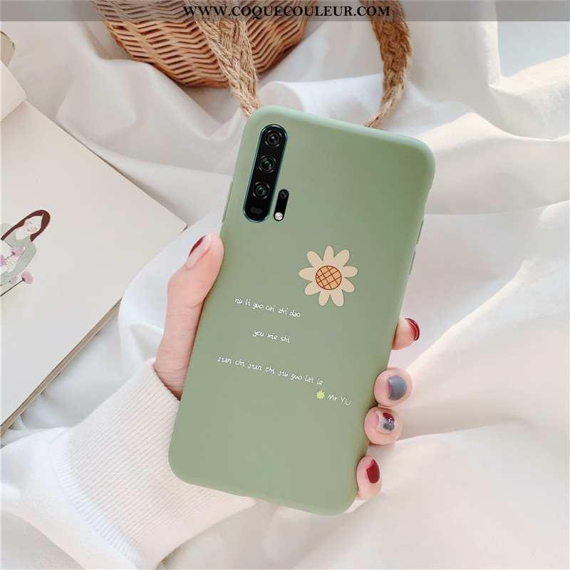 Étui Honor 20 Pro Délavé En Daim Incassable Silicone, Coque Honor 20 Pro Fluide Doux Téléphone Porta