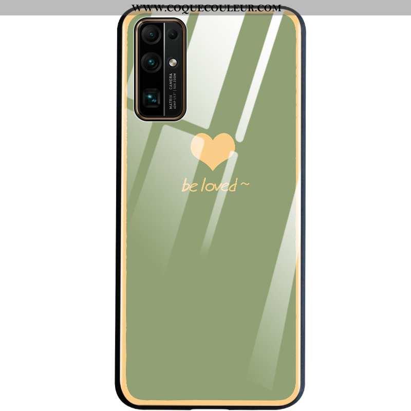Housse Honor 30 Légère Incassable Coque, Étui Honor 30 Silicone Téléphone Portable Verte