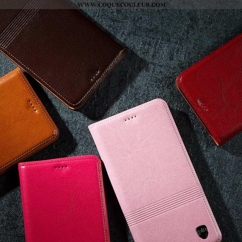 Étui Honor 30 Pro Protection Tout Compris Téléphone Portable, Coque Honor 30 Pro Cuir Véritable Rose