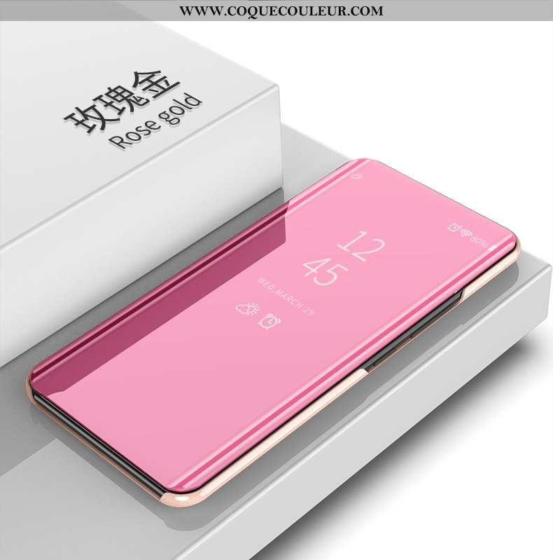 Étui Honor 9x Cuir Tendance Téléphone Portable, Coque Honor 9x Protection Difficile Rose