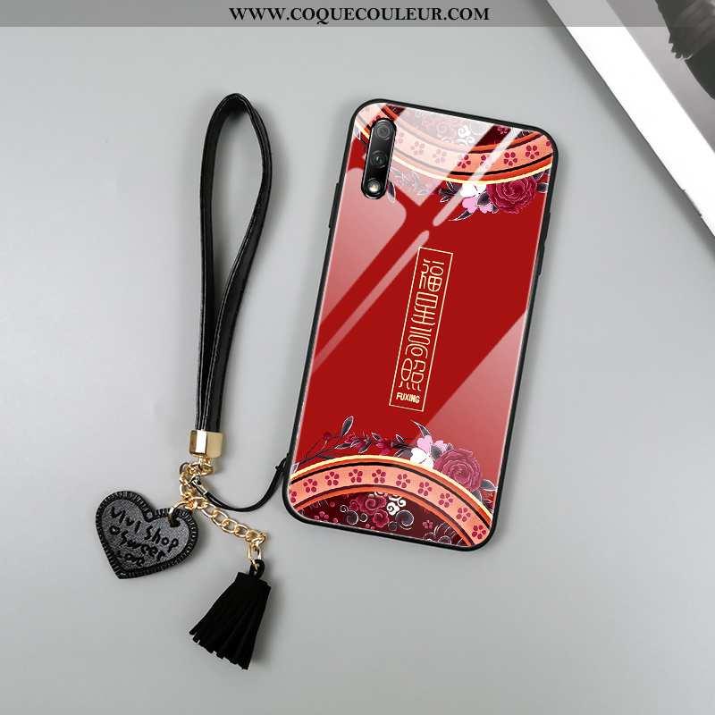Étui Honor 9x Protection Rouge Totem, Coque Honor 9x Verre Palais