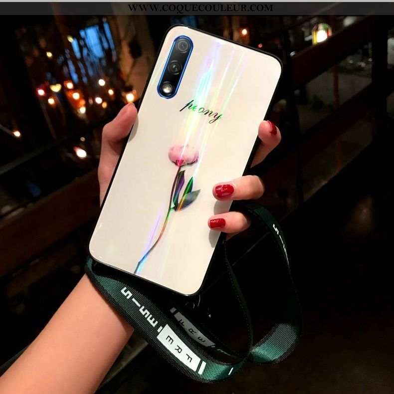 Coque Honor 9x Ultra Cou Suspendu Tout Compris, Housse Honor 9x Légère Téléphone Portable Blanche
