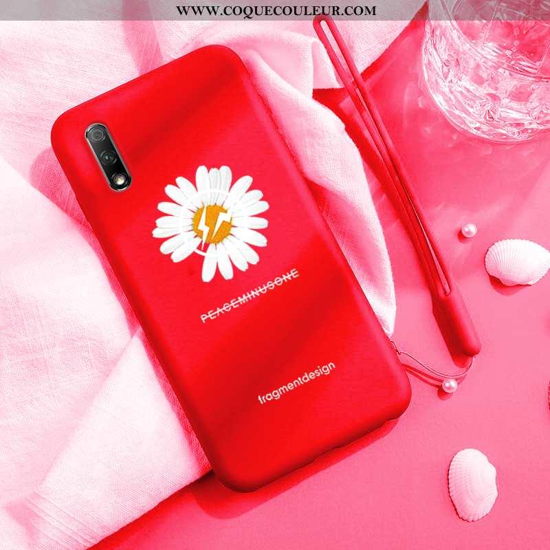 Coque Honor 9x Protection Tout Compris Petit, Housse Honor 9x Personnalité Téléphone Portable Rouge