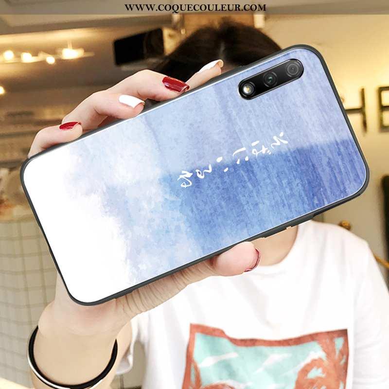 Coque Honor 9x Légère Téléphone Portable Tendance, Housse Honor 9x Fluide Doux Ultra Bleu