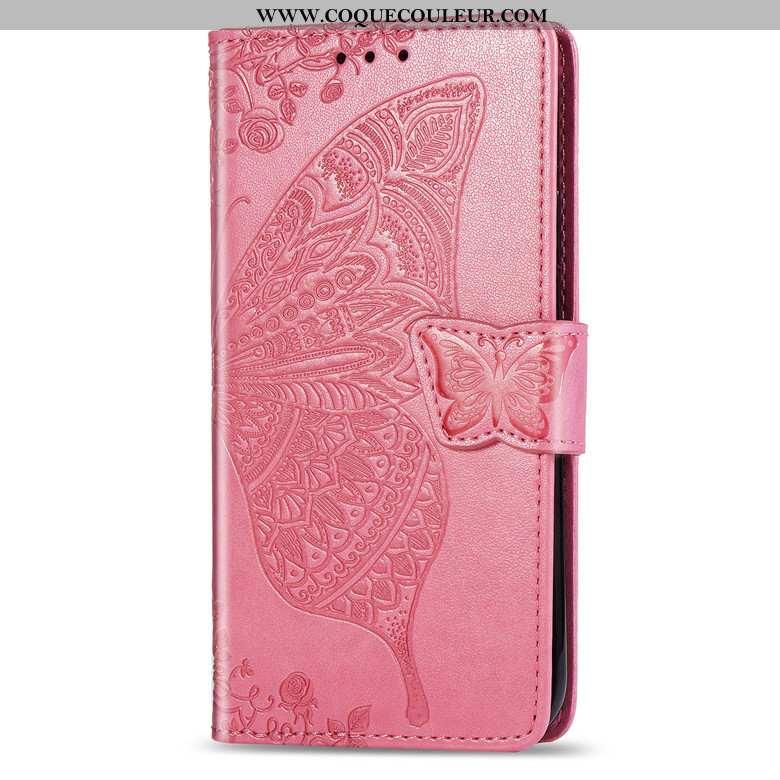Étui Honor 9x Pro Cuir Clamshell Téléphone Portable, Coque Honor 9x Pro Rose