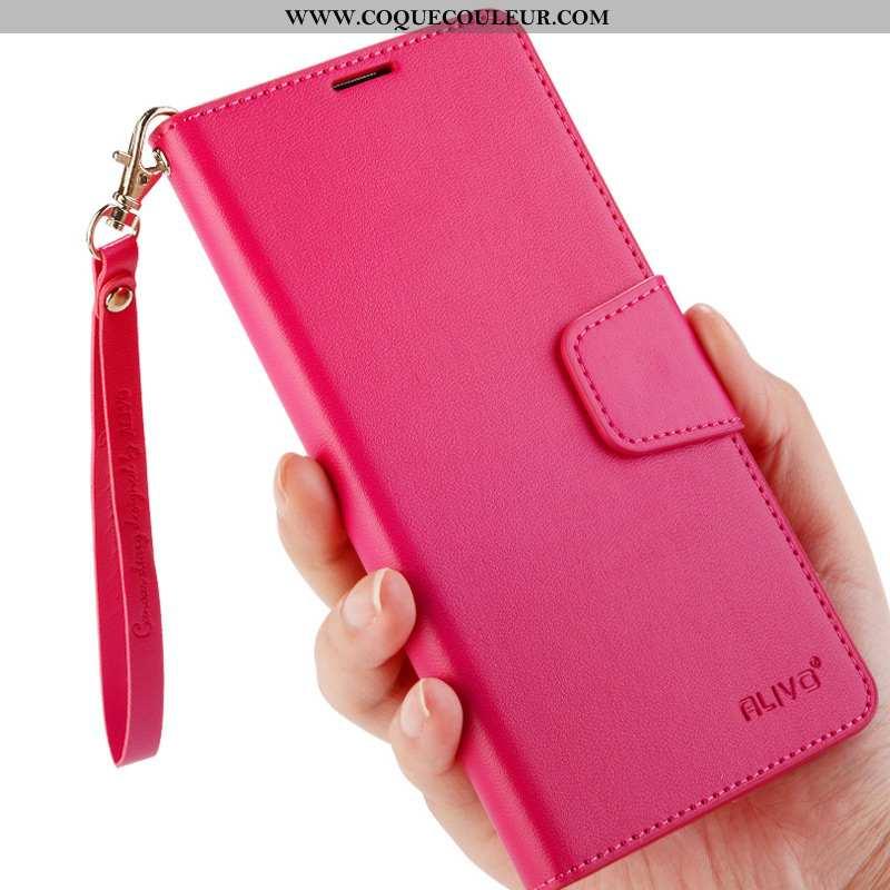 Coque Honor 9x Pro Cuir Tout Compris Étui, Housse Honor 9x Pro Protection Téléphone Portable Rose