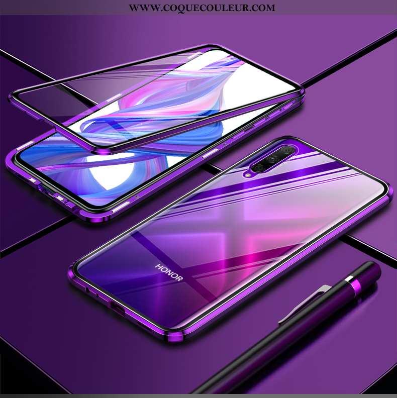 Housse Honor 9x Pro Protection Nouveau Transparent, Étui Honor 9x Pro Verre Ultra Violet