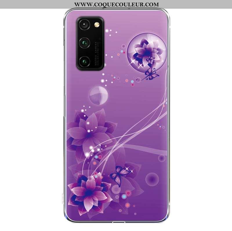 Housse Honor View30 Charmant Incassable Protection, Étui Honor View30 Fluide Doux Téléphone Portable