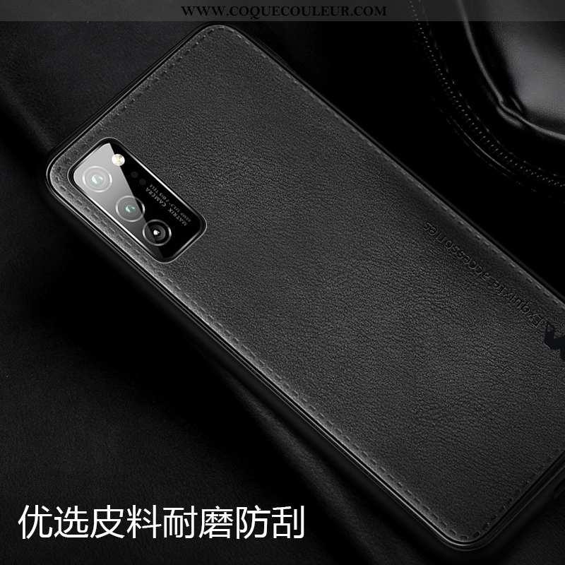 Coque Honor View30 Pro Fluide Doux Cuir Téléphone Portable, Housse Honor View30 Pro Silicone Magnéti