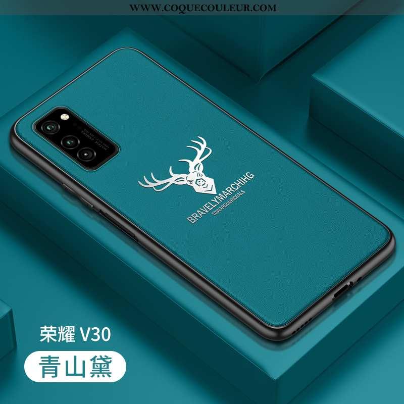 Étui Honor View30 Pro Silicone Tout Compris Incassable, Coque Honor View30 Pro Protection Bleu