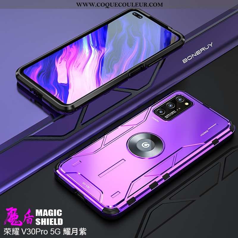 Étui Honor View30 Pro Délavé En Daim Téléphone Portable Silicone, Coque Honor View30 Pro Créatif Vio