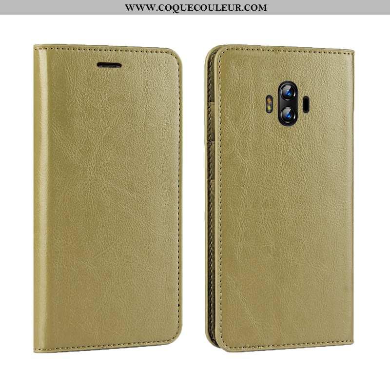 Étui Huawei Mate 10 Protection Tout Compris Simple, Coque Huawei Mate 10 Luxe Incassable Verte