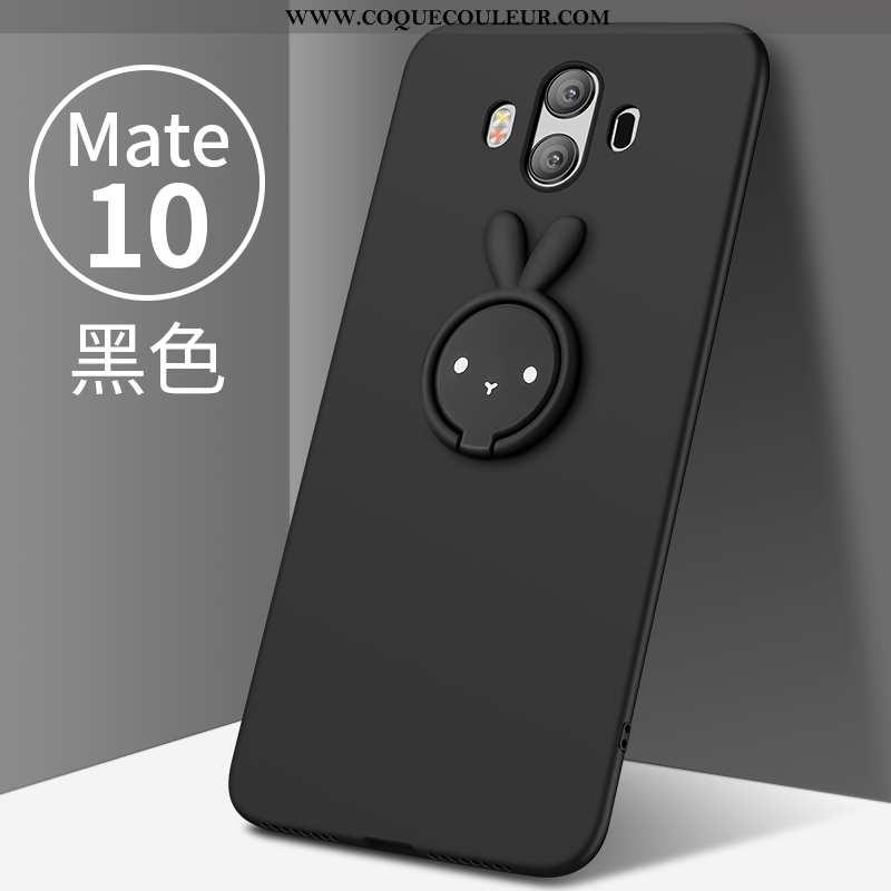 Housse Huawei Mate 10 Légère Tendance Tout Compris, Étui Huawei Mate 10 Protection Créatif Noir