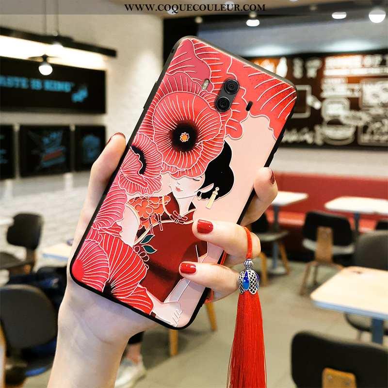 Housse Huawei Mate 10 Protection Téléphone Portable Fluide Doux, Étui Huawei Mate 10 Gaufrage Classi