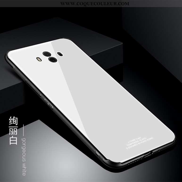 Coque Huawei Mate 10 Verre Téléphone Portable Coque, Housse Huawei Mate 10 Tout Compris Incassable B