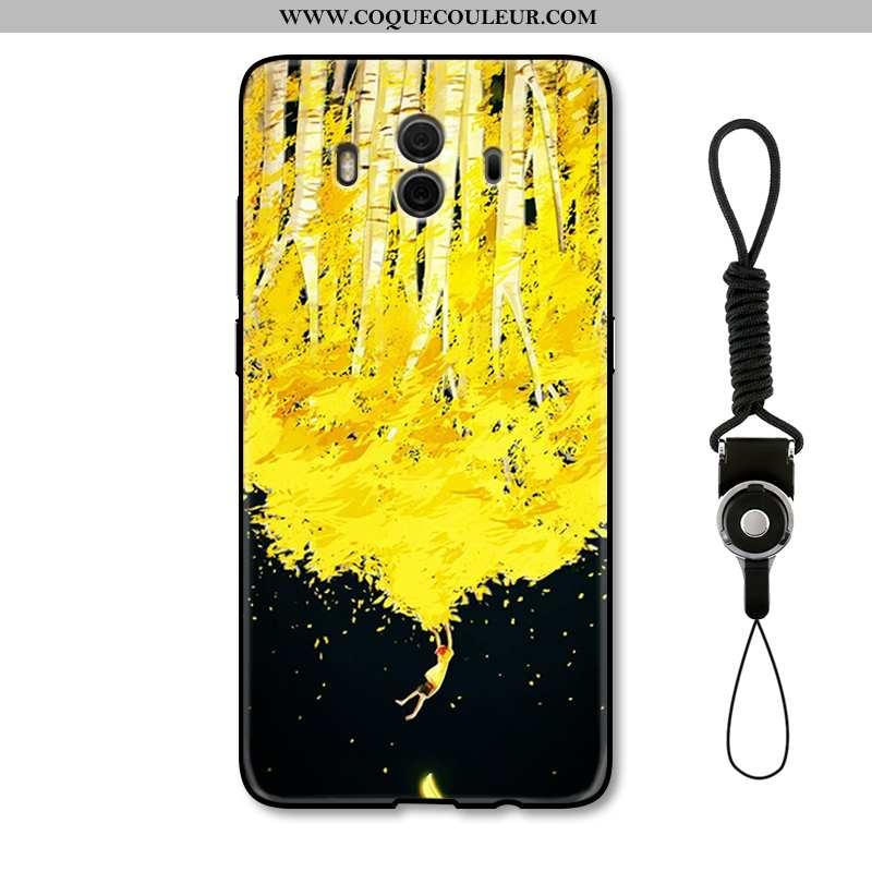 Coque Huawei Mate 10 Créatif Personnalité Téléphone Portable, Housse Huawei Mate 10 Gaufrage Protect