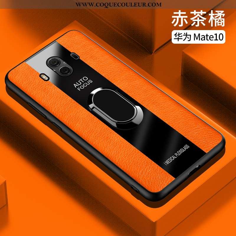 Coque Huawei Mate 10 Ultra Protection Créatif, Housse Huawei Mate 10 Légère Fluide Doux Orange