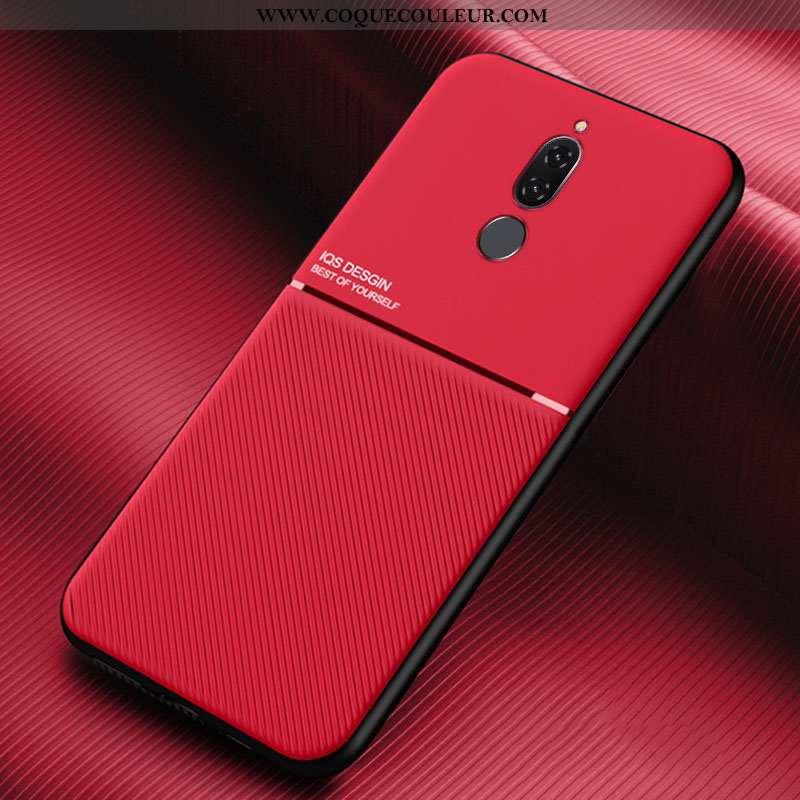 Housse Huawei Mate 10 Lite Créatif Personnalité Rouge, Étui Huawei Mate 10 Lite Cuir Incassable Roug