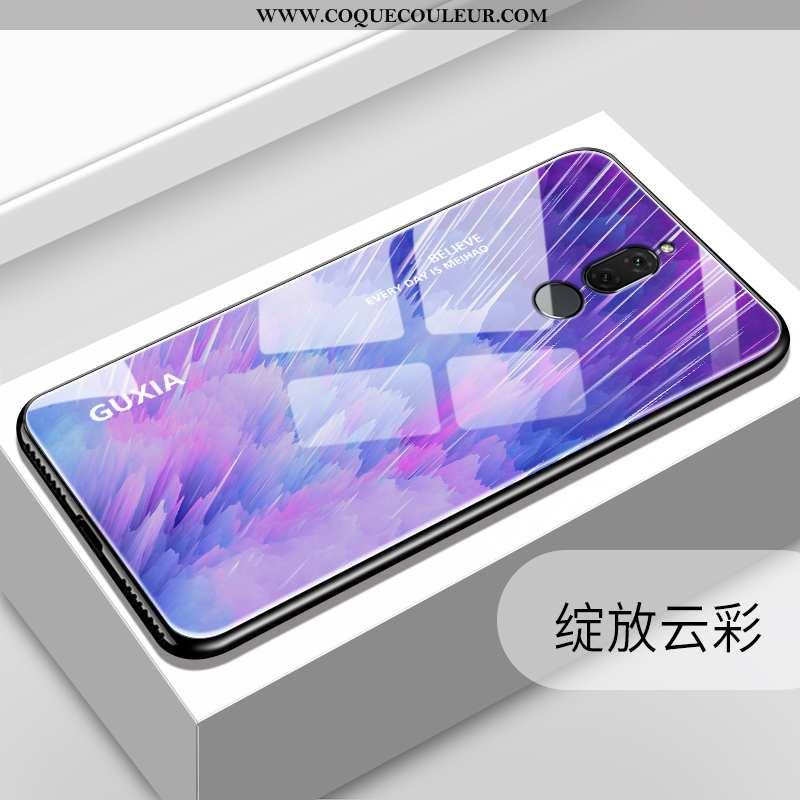 Coque Huawei Mate 10 Lite Verre Téléphone Portable Difficile, Housse Huawei Mate 10 Lite Délavé En D