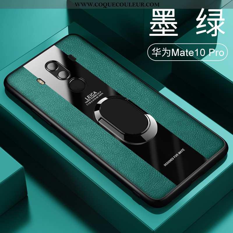 Étui Huawei Mate 10 Pro Protection Ultra Étui, Coque Huawei Mate 10 Pro Personnalité Magnétisme Vert