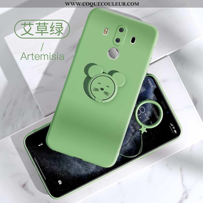 Coque Huawei Mate 10 Pro Protection Fluide Doux Vert, Housse Huawei Mate 10 Pro Tendance Tout Compri
