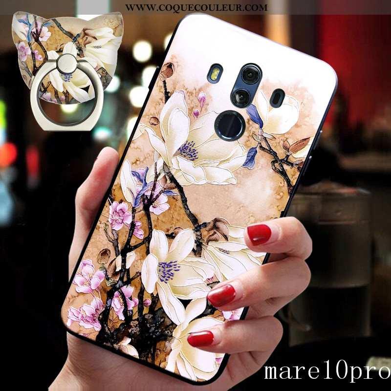 Étui Huawei Mate 10 Pro Créatif Téléphone Portable Boucle, Coque Huawei Mate 10 Pro Fluide Doux Styl