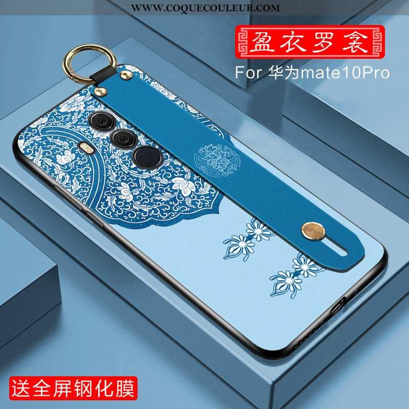 Housse Huawei Mate 10 Pro Légère Téléphone Portable Étui, Étui Huawei Mate 10 Pro Fluide Doux Mode B