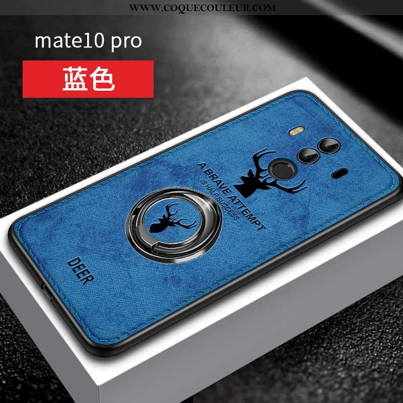 Étui Huawei Mate 10 Pro Ultra Silicone, Coque Huawei Mate 10 Pro Tendance Vent Bleu