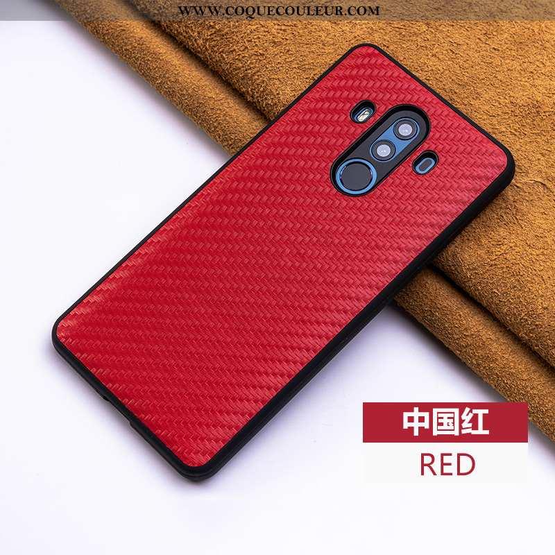 Housse Huawei Mate 10 Pro Cuir Véritable Cuir Téléphone Portable, Étui Huawei Mate 10 Pro Tendance Q
