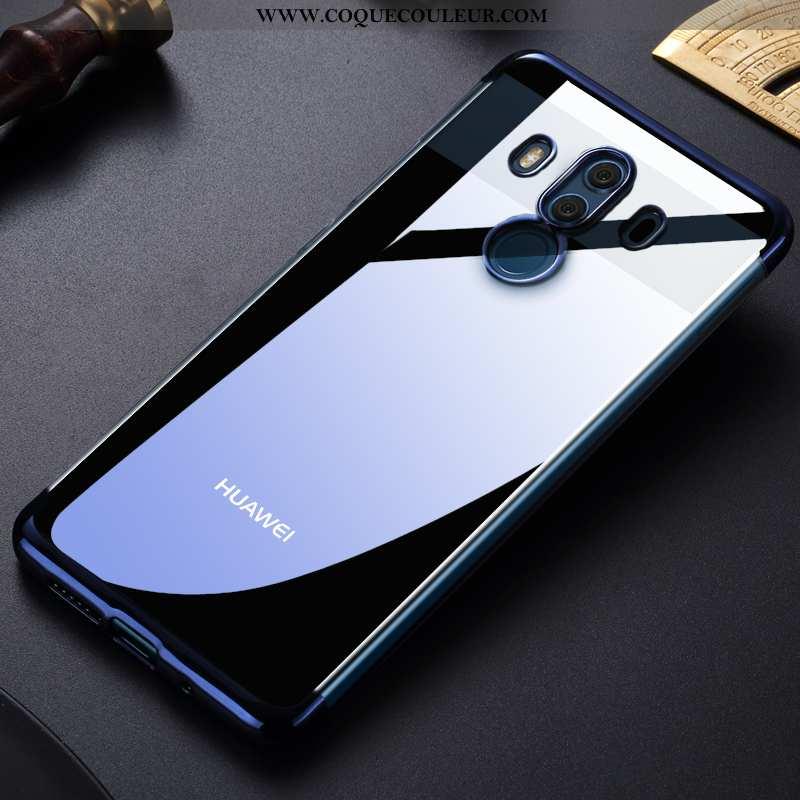 Housse Huawei Mate 10 Pro Tendance Bleu Tout Compris, Étui Huawei Mate 10 Pro Fluide Doux Placage