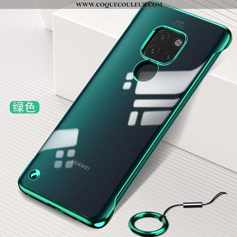 Housse Huawei Mate 20 Ultra Border Personnalité, Étui Huawei Mate 20 Tendance Incassable Verte