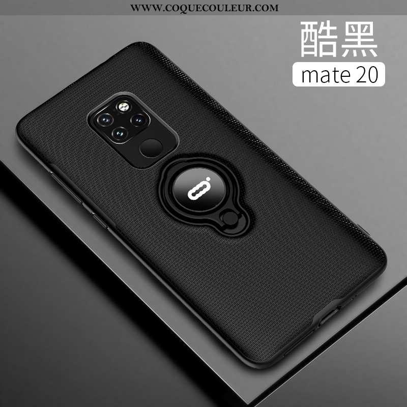 Coque Huawei Mate 20 Transparent Tendance Coque, Housse Huawei Mate 20 Délavé En Daim Téléphone Port