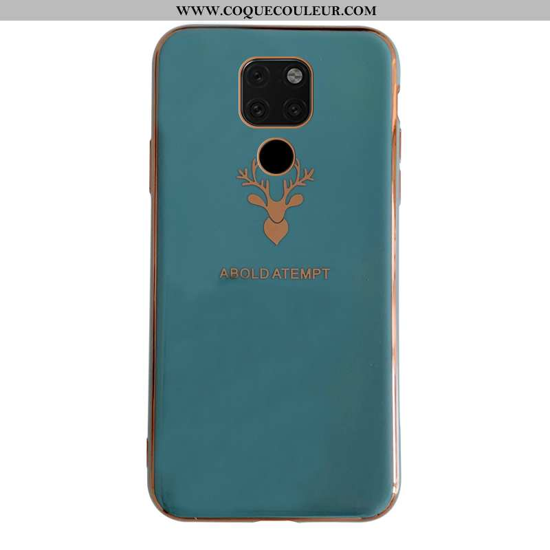 Housse Huawei Mate 20 Silicone Légère Tout Compris, Étui Huawei Mate 20 Protection Bleu