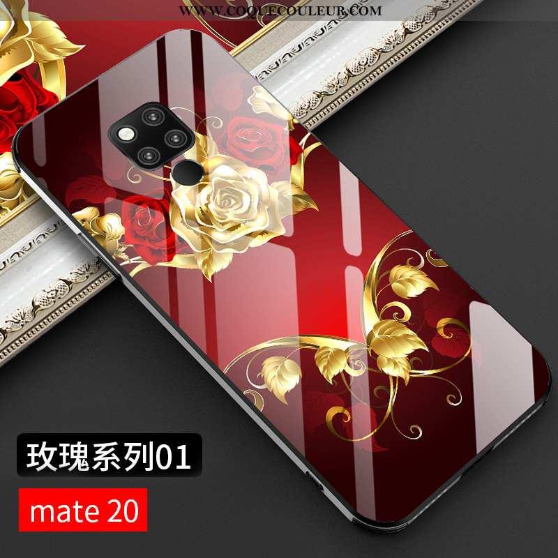 Housse Huawei Mate 20 Personnalité Silicone Nouveau, Étui Huawei Mate 20 Créatif Net Rouge