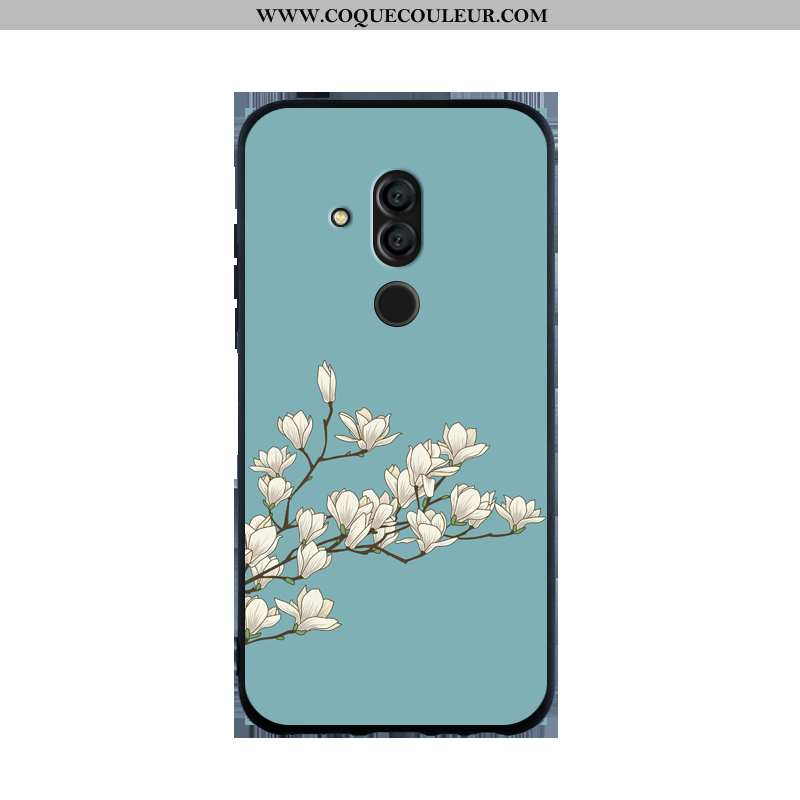 Coque Huawei Mate 20 Lite Personnalité Simple Silicone, Housse Huawei Mate 20 Lite Fluide Doux Étui
