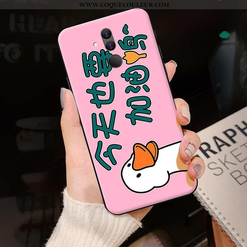 Coque Huawei Mate 20 Lite Créatif Tendance, Housse Huawei Mate 20 Lite Dessin Animé Personnalité Ros