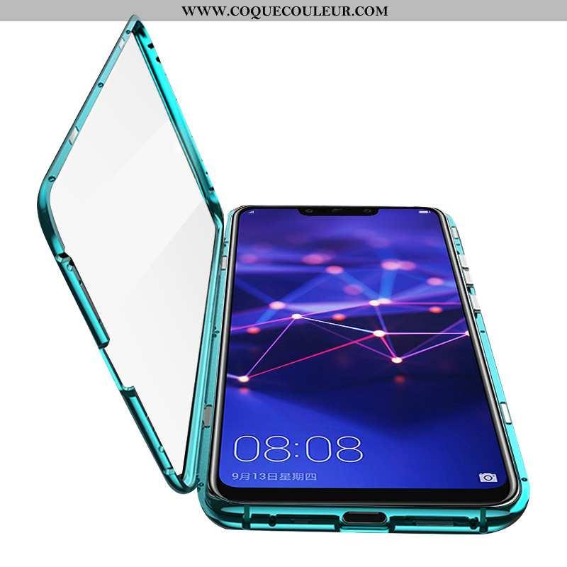 Coque Huawei Mate 20 Lite Verre Net Rouge Jeunesse, Housse Huawei Mate 20 Lite Transparent Difficile
