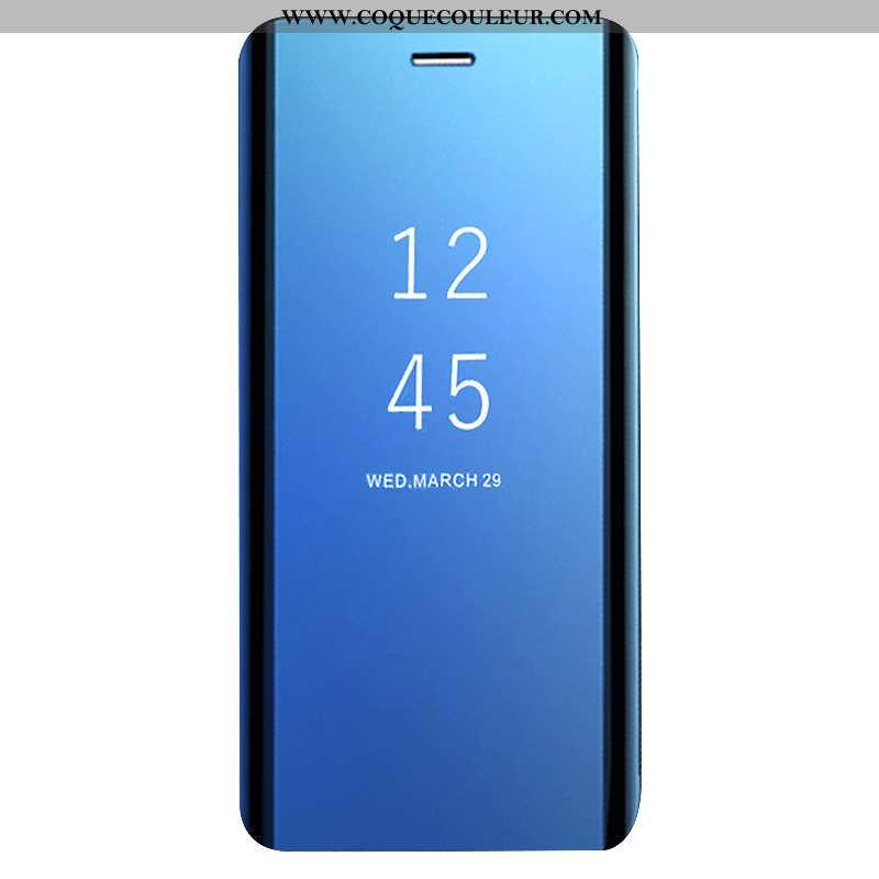 Coque Huawei Mate 20 Lite Créatif Bleu Coque, Housse Huawei Mate 20 Lite Cuir Clamshell