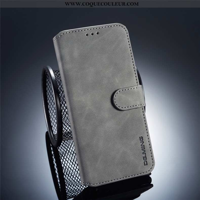 Coque Huawei Mate 20 Lite Cuir Incassable Coque, Housse Huawei Mate 20 Lite Protection Téléphone Por