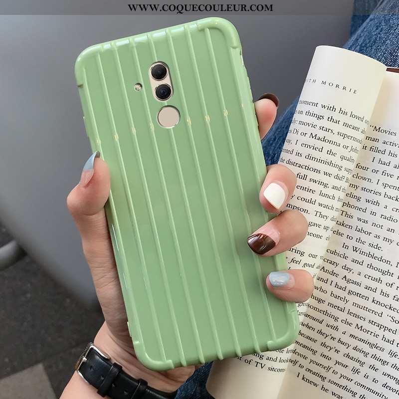Housse Huawei Mate 20 Lite Fluide Doux Étui Coque, Huawei Mate 20 Lite Téléphone Portable Couleur Un