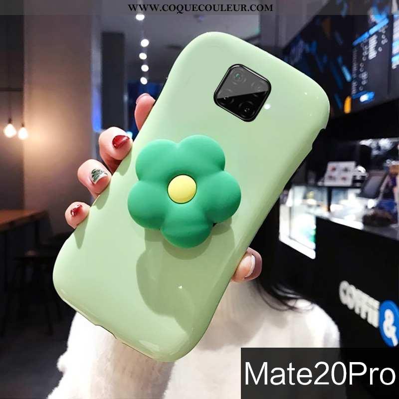 Housse Huawei Mate 20 Pro Personnalité Tendance Net Rouge, Étui Huawei Mate 20 Pro Créatif Fleurs Ve