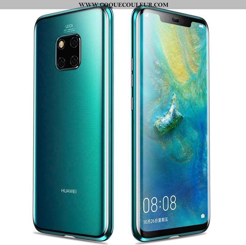 Housse Huawei Mate 20 Pro Tendance Métal Incassable, Étui Huawei Mate 20 Pro Protection Téléphone Po