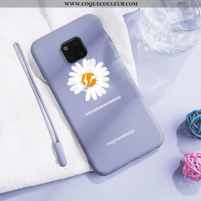 Étui Huawei Mate 20 Pro Créatif Téléphone Portable Simple, Coque Huawei Mate 20 Pro Fluide Doux Inca