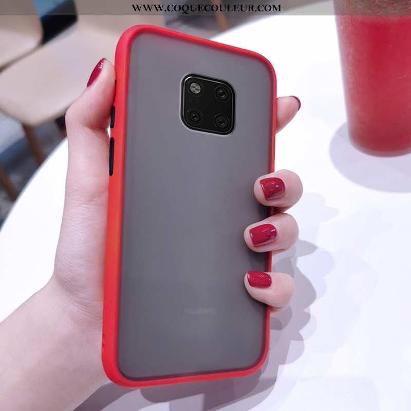Étui Huawei Mate 20 Pro Fluide Doux Légère Incassable, Coque Huawei Mate 20 Pro Délavé En Daim Ultra